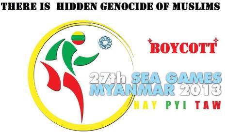 BOYCOTT SEA GAMES 2013